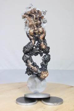 série Satie - 3 morceaux en forme de poire IV 1 Sculpteur Philippe Buil