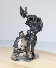 série Canis Felidae - L'adieu 3 Sculpteur Philippe Buil